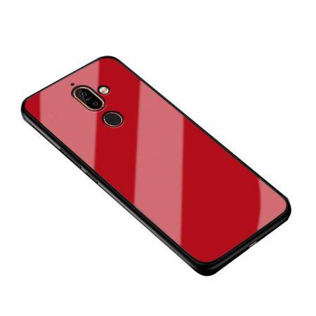 قیمت خرید قاب پشت گلس گوشی نوکیا 7 پلاس / Nokia 7 Plus مدل JZZS