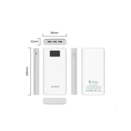 قیمت خرید پاور بانک Orico مدل L20000 با ظرفیت 20000 میلی آمپر ساعت