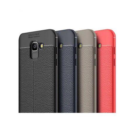 قیمت خرید کاور چرمی اتو فوکوس برای گوشی سامسونگ Galaxy A6 2018