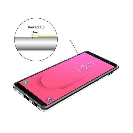 قیمت خرید قاب ژله ای گوشی Samsung Galaxy J8 2018 مدل Clear TPU
