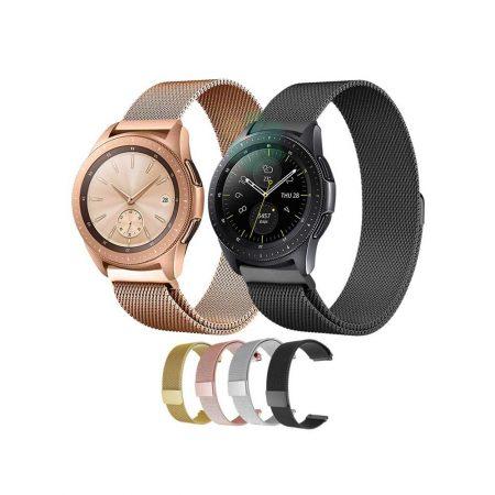 قیمت خرید بند فلزی ساعت سامسونگ گلکسی واچ Galaxy Watch 42mm مدل حصیری