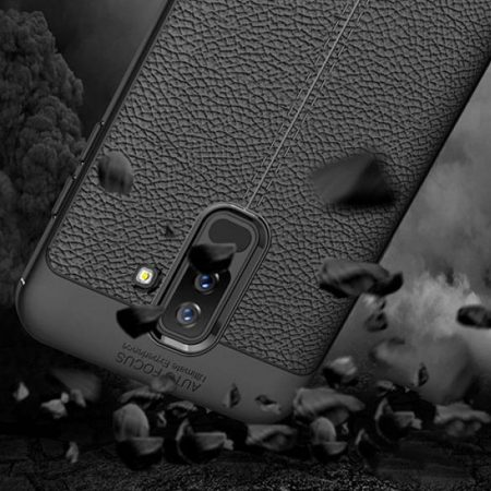 قیمت خرید کاور چرمی اتو فوکوس گوشی سامسونگ Samsung Galaxy J8 2018