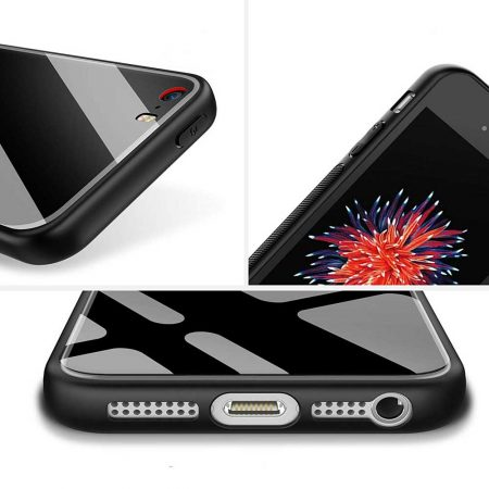 قاب پشت گلس گوشی آیفون iPhone SE / 5s مدل JZZS