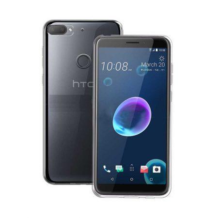 قیمت خرید قاب ژله ای شفاف گوشی HTC Desire 12 Plus مدل Clear TPU