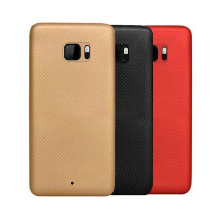 قیمت خرید کاور ژله ای Huanmin Carbon Fiber گوشی HTC U Ultra