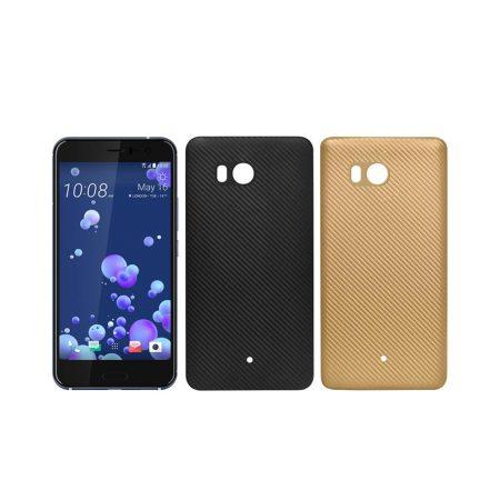 قیمت خرید کاور ژله ای Huanmin Carbon Fiber گوشی HTC U11
