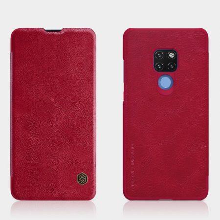 قیمت خرید کیف چرمی نیلکین گوشی هواوی Huawei Mate 20 مدل Nillkin Qin