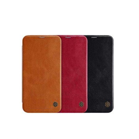 قیمت خرید کیف چرمی نیلکین گوشی سامسونگ Samsung J4 Plus مدل Nillkin Qin