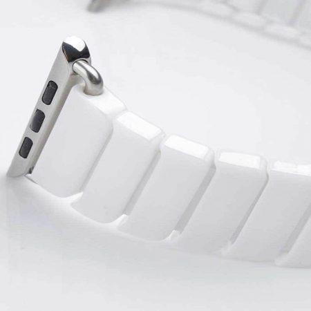 قیمت خرید بند اپل واچ لینک سرامیکی مدل 42/44 میلی متری