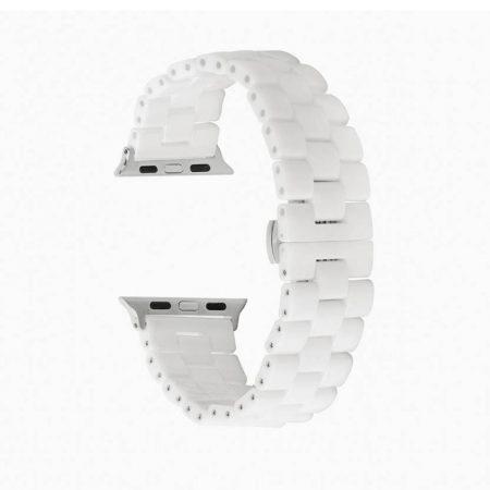 قیمت خرید بند اپل واچ سرامیکی Three Bead مدل 42mm/44mm