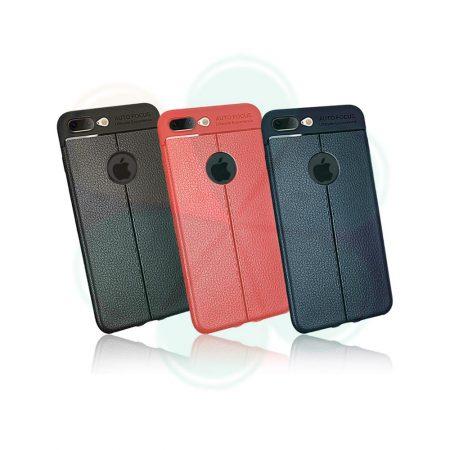 قیمت خرید کاور طرح چرم گوشی آیفون 8 پلاس iPhone 8 / 7 Plus مدل اتو فوکوس