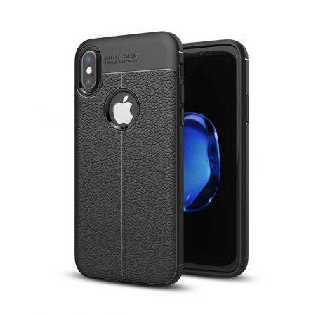قیمت خرید کاور چرمی اتو فوکوس گوشی آیفون iPhone X