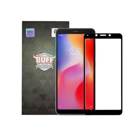 قیمت خرید محافظ صفحه شیشه ای بوف 5D برای گوشی شیائومی ردمی Xiaomi Redmi 6A / 6