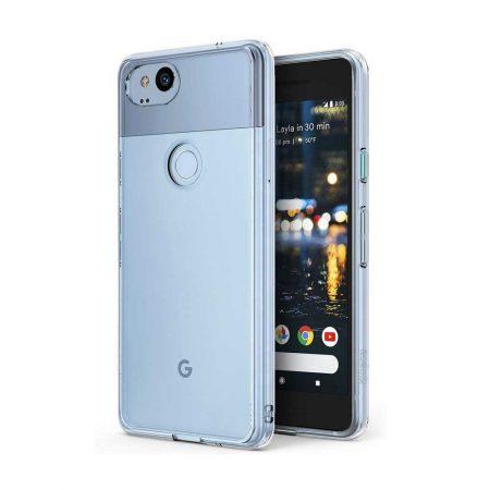 قیمت خرید قاب ژله ای شفاف گوشی گوگل Google Pixel 2 مدل Clear TPU