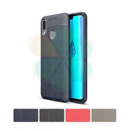 قیمت خرید کاور چرمی اتو فوکوس مناسب گوشی هواوی Huawei Y9 2019