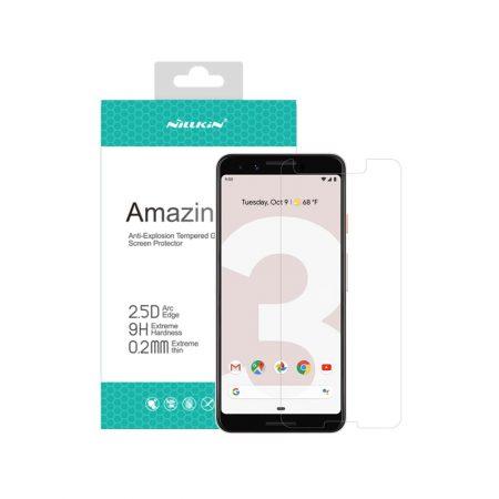 قیمت خرید گلس نیلکین گوشی گوگل Google Pixel 3 مدل Amazing H+ Pro