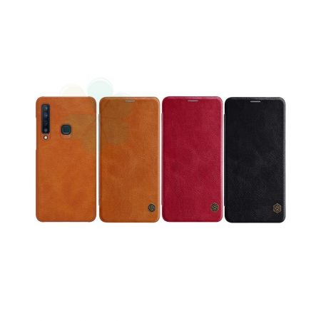 قیمت خرید کیف چرمی نیلکین گوشی سامسونگ Samsung A9 2018 / A9s مدل Nillkin Qin