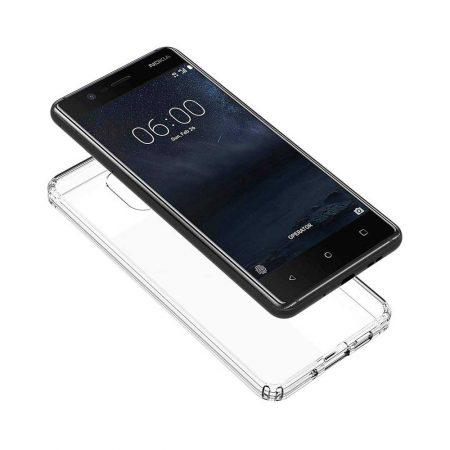 قیمت خرید قاب ژله ای شفاف گوشی نوکیا Nokia 3.1 مدل Clear TPU