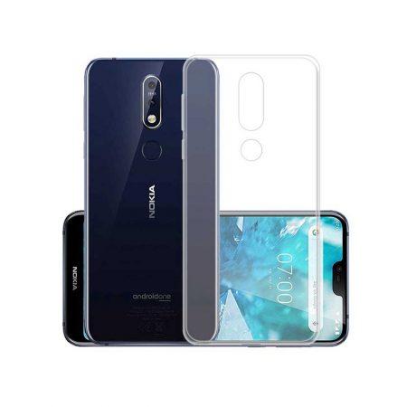 قیمت خرید قاب ژله ای شفاف گوشی نوکیا Nokia 3.1 Plus مدل Clear TPU