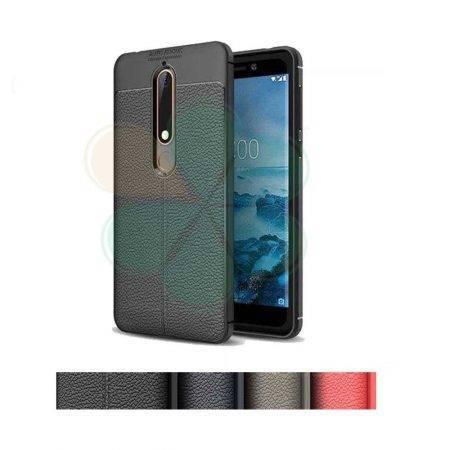 قیمت خرید کاور چرمی اتو فوکوس گوشی نوکیا Nokia X6 - 6.1 Plus