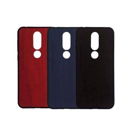 قیمت خرید قاب طرح چوب گوشی نوکیا Nokia X6 - 6.1 Plus