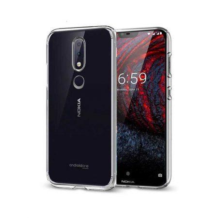 قیمت خرید قاب ژله ای شفاف گوشی نوکیا Nokia X6 - 6.1 Plus مدل Clear TPU