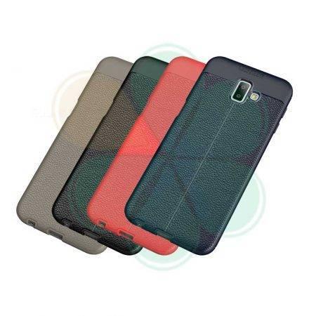 قیمت خرید کاور چرمی اتو فوکوس گوشی سامسونگ Samsung J6 Plus / J6 Prime