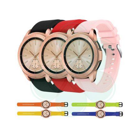 قیمت خرید بند ساعت سامسونگ گلکسی واچ Galaxy Watch 42mm مدل سیلیکونی