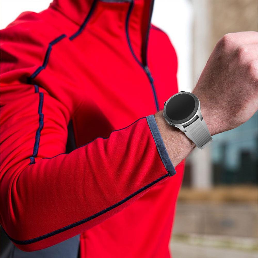 قیمت خرید بند سامسونگ گلکسی واچ - Galaxy Watch 46mm سیلیکونی طرح اصلی