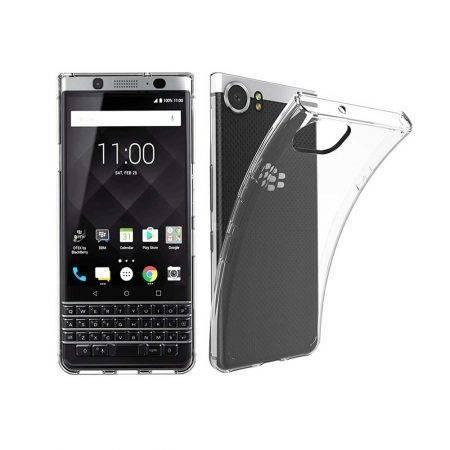 قیمت خرید قاب ژله ای شفاف گوشی بلک بری BlackBerry Keyone مدل Clear TPU
