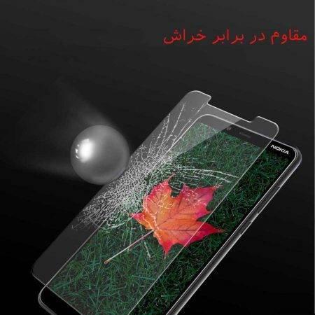 قیمت خرید محافظ صفحه گلس گوشی نوکیا Nokia 3.1 Plus