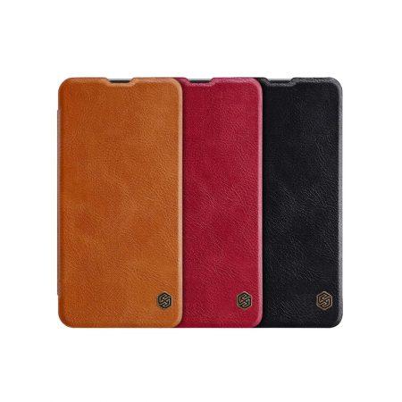 قیمت خرید کیف چرمی نیلکین گوشی سامسونگ Samsung Galaxy A8s مدل Nillkin Qin
