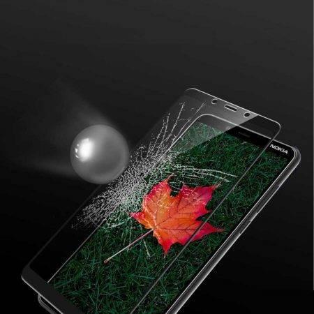 قیمت خرید گلس محافظ تمام صفحه گوشی نوکیا Nokia 3.1 Plus
