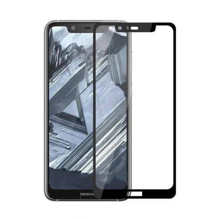 قیمت خرید گلس محافظ تمام صفحه گوشی نوکیا Nokia 5.1 Plus / X5