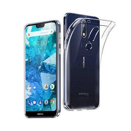 قیمت خرید قاب ژله ای شفاف گوشی نوکیا Nokia 7.1 مدل Clear TPU