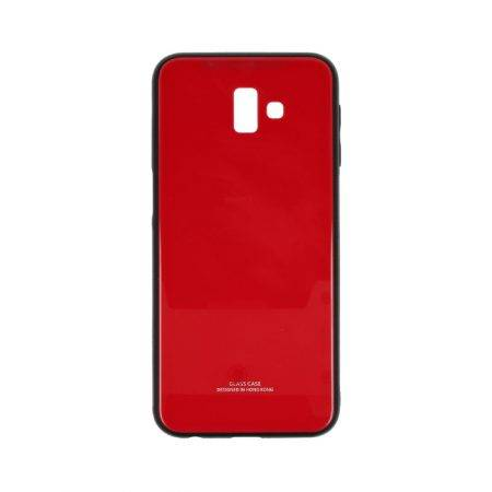 قیمت خرید قاب پشت گلس گوشی سامسونگ Galaxy J6 Plus مدل JZZS