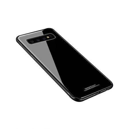 خرید قاب پشت گلس گوشی سامسونگ Samsung Galaxy S10 Plus مدل JZZS