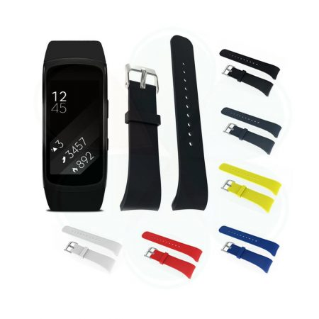 قیمت خرید بند ساعت سامسونگ گیر فیت Fit2 / Fit 2 Pro مدل سیلیکونی