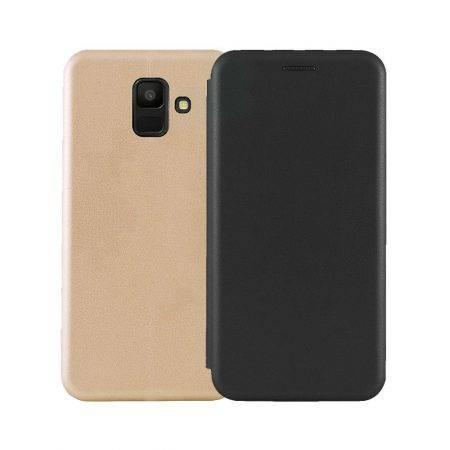 خرید کیف کلاسوری چرمی گوشی سامسونگ Samsung Galaxy A6 2018