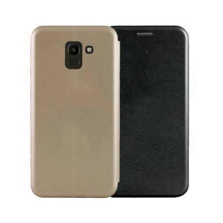 خرید کیف کلاسوری چرمی گوشی سامسونگ Samsung Galaxy J6 2018