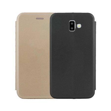 خرید کیف کلاسوری چرمی گوشی سامسونگ Samsung J6 Plus 2018