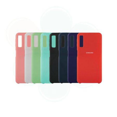 قیمت خرید قاب محافظ سیلیکونی گوشی سامسونگ Samsung Galaxy A7 2018