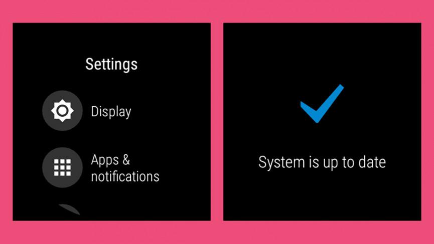 نحوه به روز رسانی سیستمی Wear OS