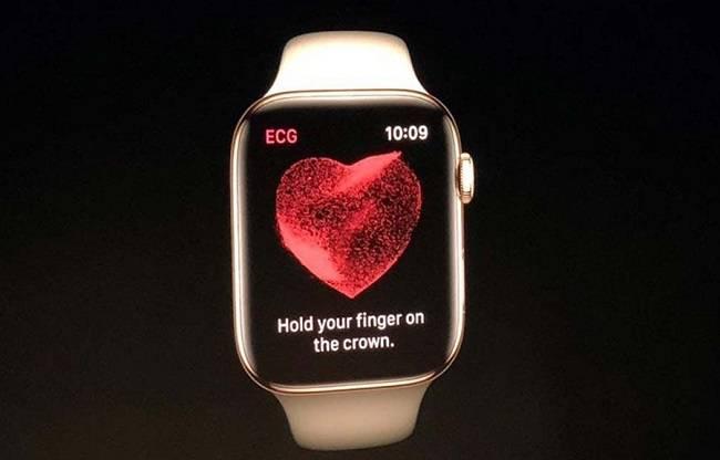 تکنولوژی ECG در اپل واچ سری 4