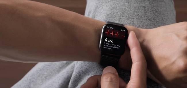 اپل واچ سری 5 و تکنولوژی ECG