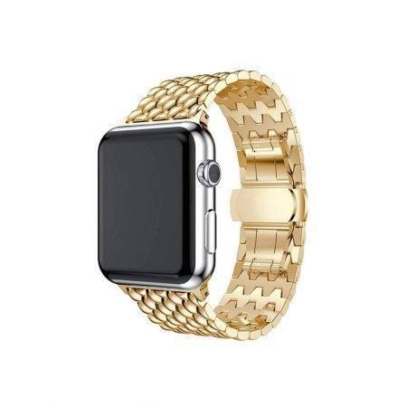 خرید بند اپل واچ Apple Watch 38/40mm مدل فلزی طرح دراگون