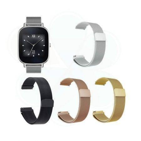 قیمت خرید بند ساعت ایسوس زن واچ 2 - Zenwatch 2 WI502Q مدل فلزی حصیری