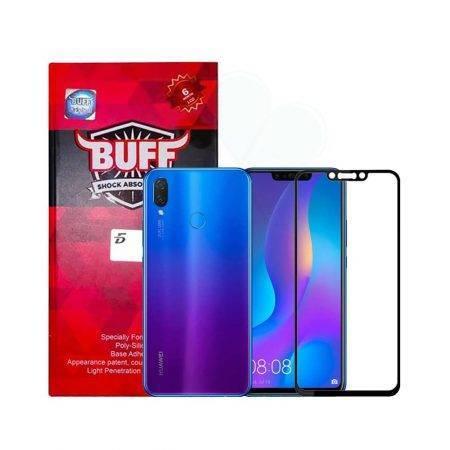 خرید محافظ صفحه شیشه ای بوف 5D گوشی هواوی Nova 3i / P Smart Plus