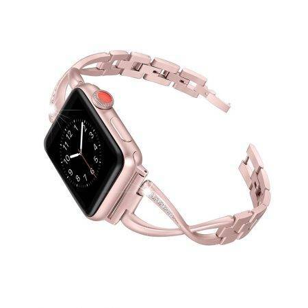 خرید بند ساعت اپل واچ Apple Watch 38/40mm مدل استیل Jansin
