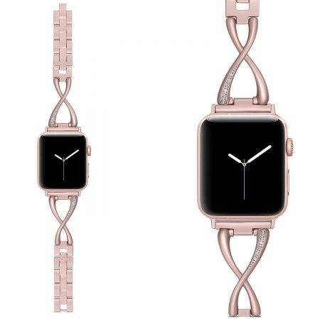خرید بند ساعت اپل واچ Apple Watch 42/44mm مدل استیل Jansin